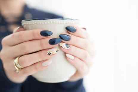 Elegance - Shellac Manicure or Pedicure or Both - Save 58%