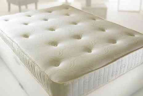 Komfet - Hand tufted orthopaedic mattress choose from five sizes - Save 83%