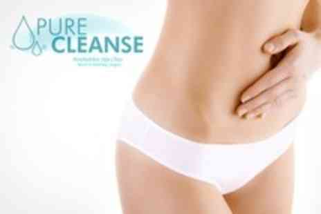 Pure Cleanse - Colonic Hydrotherapy With Nutritional Assessment Plus Alkaline and Acidity Test - Save 71%
