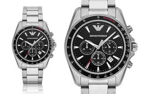 Best Watch Company - Mens Emporio Armani AR6098 chronograph watch - Save 72%