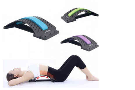 Yello Goods - Back stretcher and posture corrector choose from three colours - Save 84%