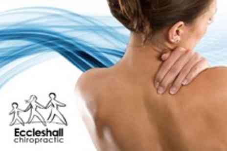 Eccleshall Chiropractic - Three Chiropractic Treatments With Consultation - Save 74%
