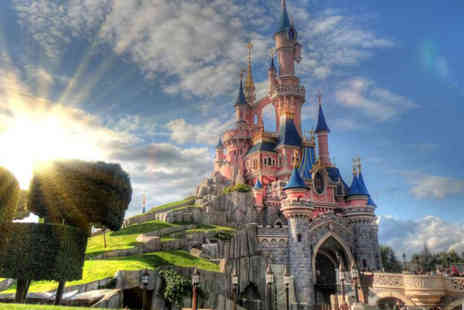 Travel Center - Two nights Disneyland Paris break with a 1 day 2 park ticket and return Eurostar ticket - Save 39%