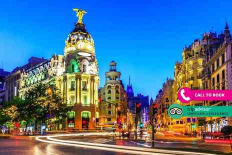 Book It Now Holidays - Two nights Madrid getaway with return flights - Save 30%