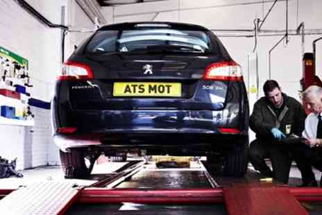 ATS Euromaster - MOT Test, 10% Off Repairs and Vehicle Health Check - Save 40%
