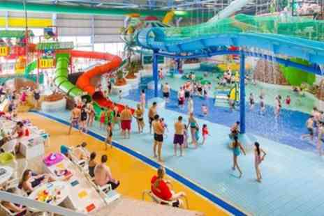 Water World - Non Half Term or Half Term Full Day Entry for Adult or Family of Four - Save 31%