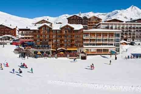 Alpine Elements - Half term Tignes ski holiday with flights and meals - Save 0%