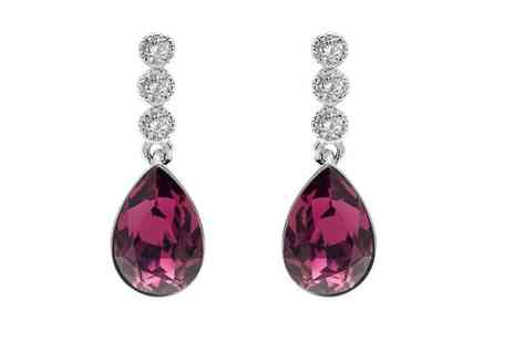 Lily Spencer London - Pair of Sofia earrings choose from two colours - Save 69%