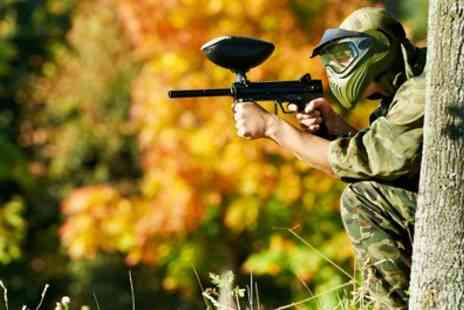 Quex Activity Centre - Paintball Experience for Up to 15 People - Save 90%