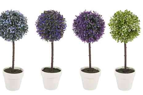 Groupon Goods Global GmbH - One or Two Decorative Artificial Ball Plants - Save 0%