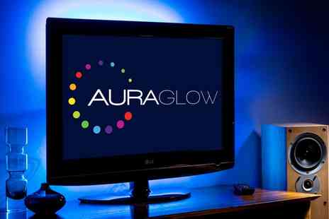 Groupon Goods Global GmbH - One or Two Auraglow Led Colour Changing Usb Tv Backlight Strips - Save 73%
