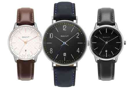 Groupon Goods Global GmbH - Gant Unisex Watch in a Choice of Style With Free Delivery - Save 0%