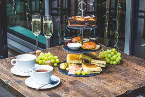 Veeno Wine Cafe - Italian Afternoon Tea with Prosecco for Two - Save 0%