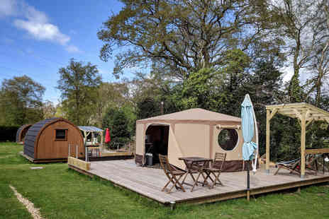 Back of Beyond - Three Nights Glamping Break for Two - Save 37%
