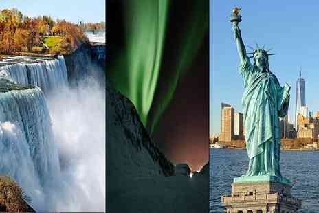 Crystal Travel - Six nights Iceland, Niagara and New York getaway with transfers between destinations and return flights - Save 23%