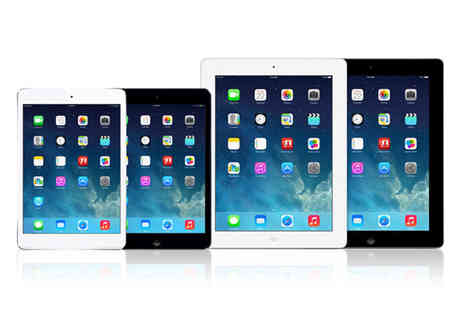 Renew Electronics - Apple iPad 2 or Apple iPad Mini choose from two colours - Save 65%