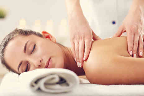 KnuSkin Advanced Skincare & Wellness Spa - Three hour spa day for one person with a 15 minute Swedish back massage and 15 minute Dermalogica facial - Save 63%