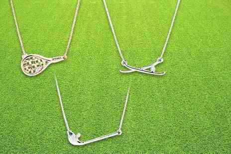 Lily Spencer London - Sports themed necklace choose from three styles and two colours - Save 80%