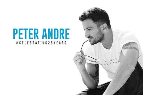 Liz Hobbs Group - Ticket to see Peter Andre live on his 25th anniversary tour - Save 48%