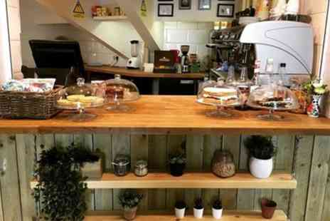 Central Coffee - Lunch Choice with Cake and Drink for One, Two or Four - Save 44%