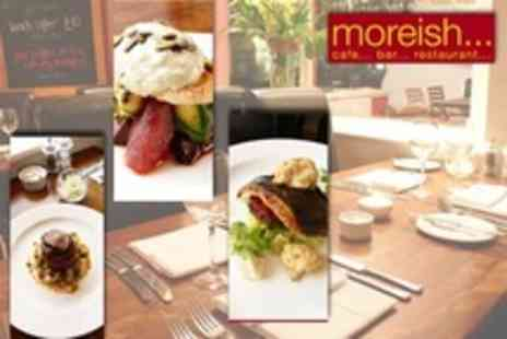 Moreish - Six Course Tasting Menu For Two With Champagne Cocktail Each - Save 66%