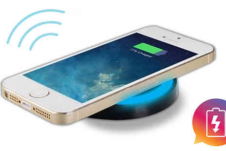 Home Season - Qi Wireless Phone Charger Apple & Android Compatible - Save 80%