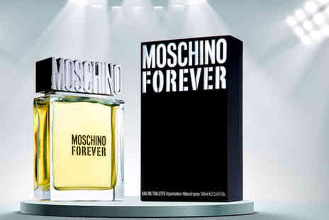 Bright Retail - 100ml bottle of Moschino Forever eau de toilette - Save 51%