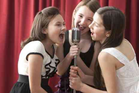 Supercube - One Hour Karaoke Party with Popcorn to Share for Up to 30 Kids - Save 82%