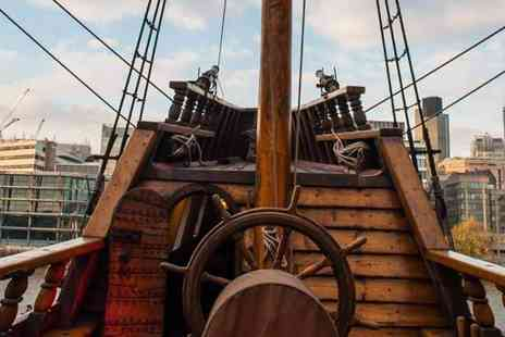 Encore Tickets - Character Led Hilarious Tours on The Golden Hinde Fantastic and Fun Way to Discover Facts this Easter - Save 20%