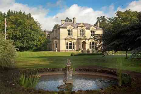 Beechfield House Hotel - Country House with Award Winning Restaurant for two - Save 60%