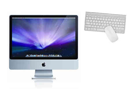 Affordable Mac - Refurbished 24 Inch Apple iMac with 4GB of RAM or iMac with 8GB of RAM - Save 39%