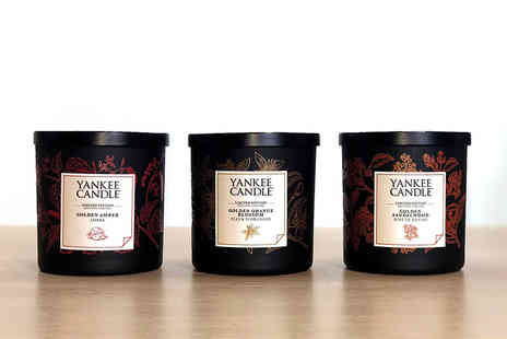 Yankee Bundles - Two Yankee Candle gold collection luxury gift boxed candles - Save 46%
