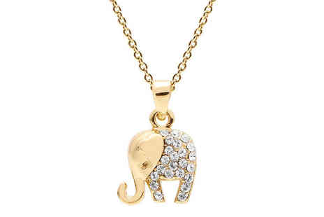 Lily Spencer London - Elephant pendant and bracelet set - Save 69%