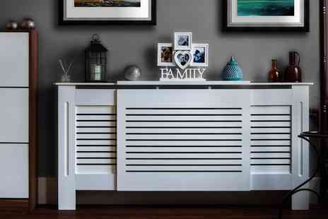 Groupon Goods Global GmbH - Radiator Cover in Choice of Size and Model - Save 71%