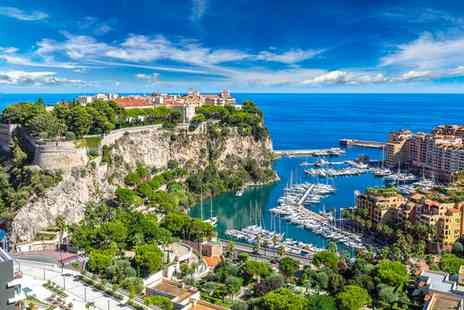 Hotel Columbus Monte Carlo - Three Star Glamorous Escape to the French Riviera for two - Save 50%