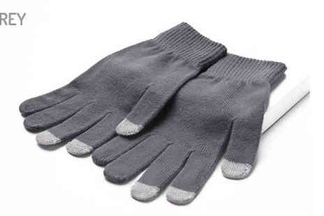 Pearl Info - Touch Screen Winter Gloves Choose from 4 Colours - Save 81%