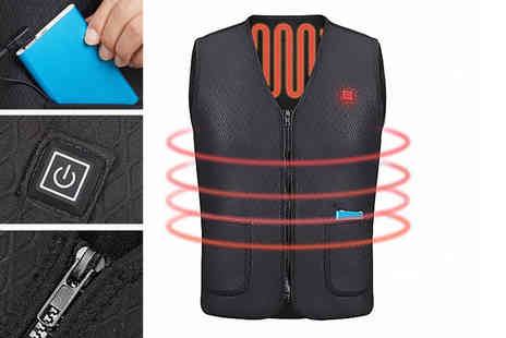Yello Goods - Electric heating vest - Save 81%