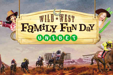 Doncaster Racecourse - Wild West family fun day on 31st Mar 2019 for two adults and up to six children - Save 47%