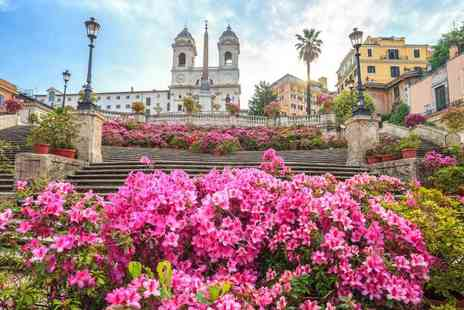 Bargain Late Holidays - Four Star Two or three nights Rome getaway staying in an upgraded Superior Room with breakfast and return flights - Save 29%