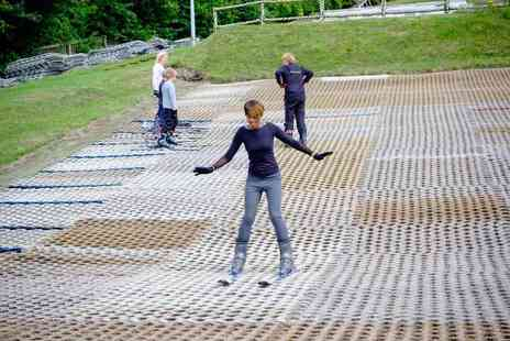 Ackers Adventure - One hour private dry slope skiing lesson for one - Save 53%