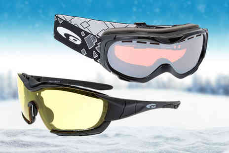 Brand Arena - Pair of ski goggles choose from five designs - Save 80%