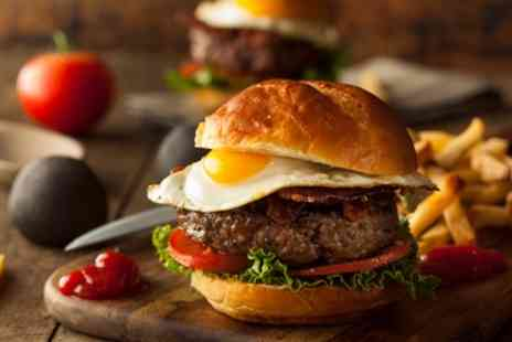 Igloo Restaurants - Choice of Burger and Beer for Two or Four - Save 36%