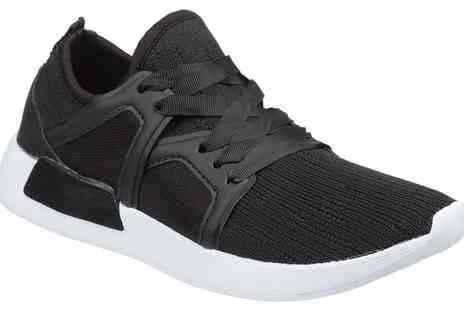 Groupon Goods Global GmbH - Womens Black Trainers - Save 0%