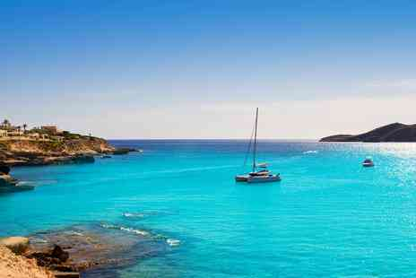 Jetline Holidays - Four nights Ibiza break flights and meals - Save 0%