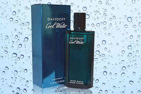 Bright Retail - 125ml bottle of Davidoff Cool Water for him - Save 27%