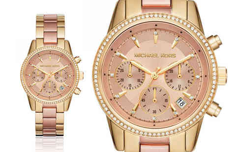 Best Watch Company - Michael Kors two tone Ritz ladies watch - Save 60%