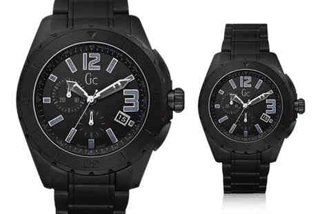 Its Watch Time - Black ceramic chronograph watch - Save 67%