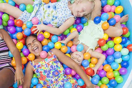 Oceans of Fun - Soft play session and drinks for two kids - Save 37%