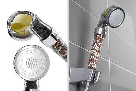 Domo Secret - High pressure filtered shower head - Save 87%