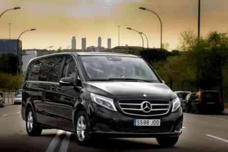 Europe Shuttle - Private Departure Transfer Central London to Gatwick Airport in a Luxury Van - Save 0%